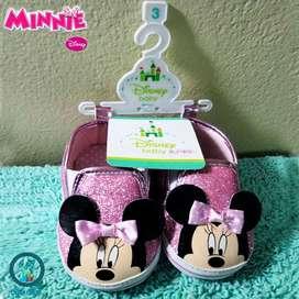 Zapatillas De Bebe Minnie Disney Original
