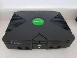 Xbox Clasica Negra Como Nueva