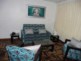 departamento amoblado con 2 dormitorios en san miguel