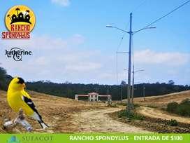 LOTES EN VENTA, A 25 MINUTOS DE PUERTO CAYO - MANABI   SD2