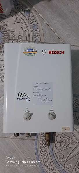 Calentador Bosch 5.5 litros