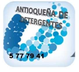 Productos de limpieza y desinfeccion, productora antioqueña detergentes