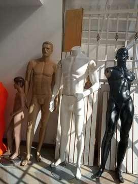 Montaje de almacen de ropa