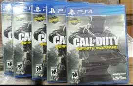 CALL OF DUTY INFINITE WARFARE PS4 NUEVO SELLADO
