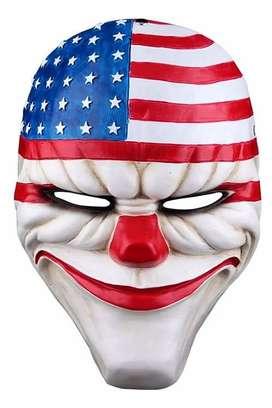 Payday Mascara De Dallas Heist De Payaso Asalto Al Banco
