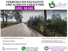 TERRENOS URBANOS Y RURALES HASTA 5000M2 EN VENTA EN PEDRO MONCAYO – ECUADOR