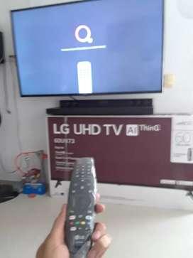Se hacen instalaciones de televisores