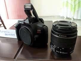 Camara reflex Canon t6 (1300d)+18-55 IS II
