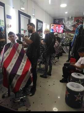 Vendo Barberia sector comercial