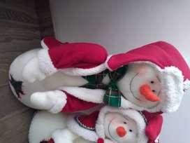 Muñecos de navidad- Nieves enamorados