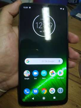 Vendo o permuto x celu chico. Moto g7 plus libre impecable