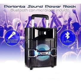 Parlante Portátil 10 Kolke Kpg-104 Rock Bluetooth Usb Sd Mic