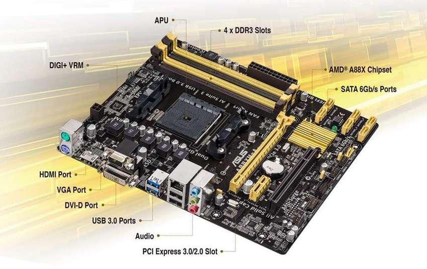 PLACA MADRE ASUS ASUS A88XMA USB 3.1 0