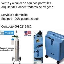 Alquiler de concentradores de oxigeno
