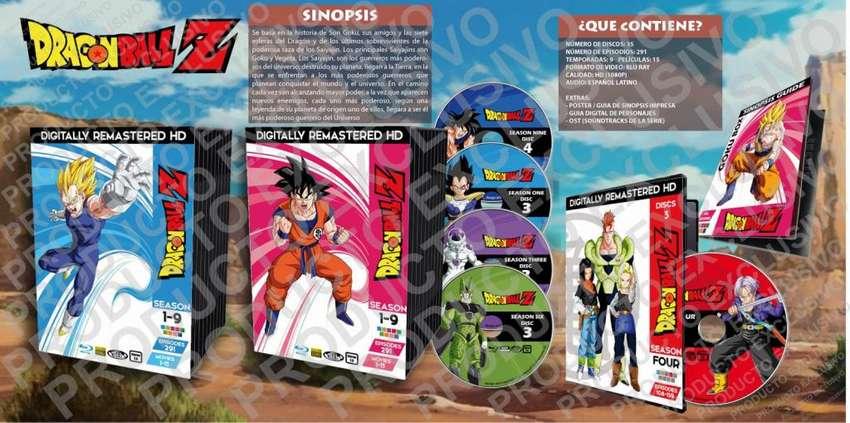Anime Dragon Ball Z Hd Serie Completa 0
