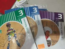 Regalo libros de Educación Básica Santillana