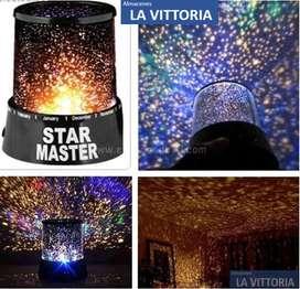 Lampara Proyectora Luz Cósmica de Estrellas