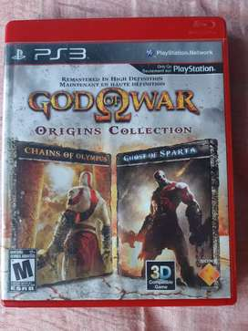 Se vende o cambia god of War origins collections