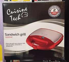 Sandwichera Grill Cuisine Tech