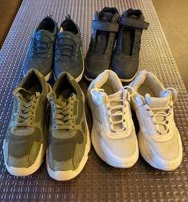 4 zapatillas a s/100
