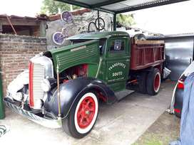 Vendo Dodge 1936 Totalmente ORIGINAL
