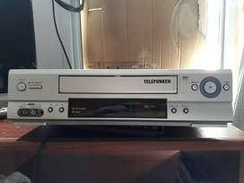 VCR Telefunken TK 9610 HiFi 6 cabezas