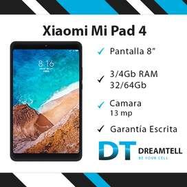 Xiaomi Mi Pad 4 + Garantía