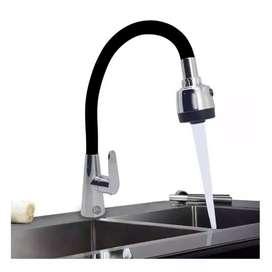 Grifo llave lavaplatos mesa flexible Escualizable  silicona