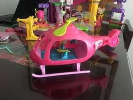 Helicoptero polly poket
