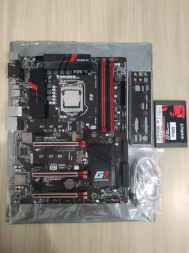 Combo Core I7 6700k + Board Z170x Gaming 3 + Ssd 120 gb
