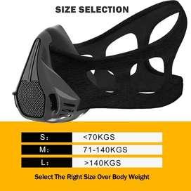 Mascara de elevacion para entrenamiento funcional gym