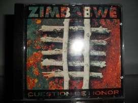 La Zimbabwe cuestión de honor cd original