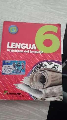 Libro Practicas del lenguaje 6 santillana