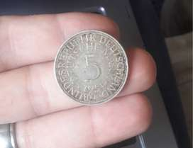 Moneda Antigua Alemana 1951