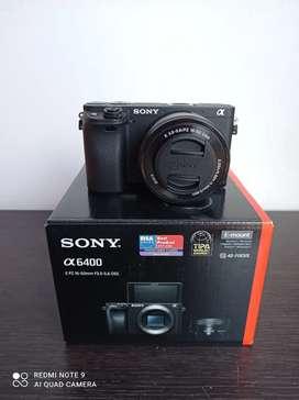 SONY alfa 6400 kit 16-50