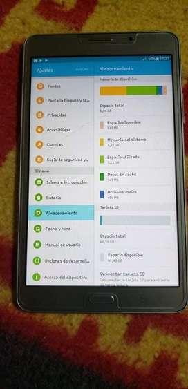 Tablet Samsung de 7 pulgadas