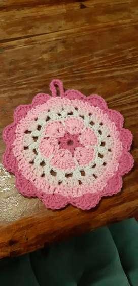 Agarraderas a crochet