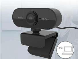 Cámara Web 1080p con micrófono incorporado
