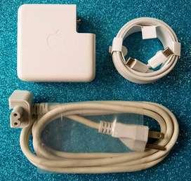 Cargador Apple tipo C 61W para MacBook