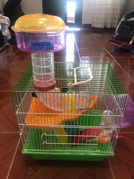 Casa para hamsters