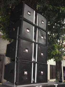 "Cabinas array de 12"""