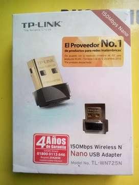 TP Link Nano USB Adaptador TL 725N