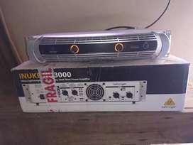 Behringer Inuke Nu-3000 Potencia Digital 3000w 2x1500w/2ohm