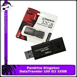 PENDRIVE KINGSTON DATATRAVELER 100 G3 32GB