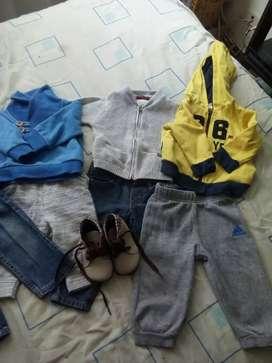 Lote d ropa talla 1 año 10 prendas