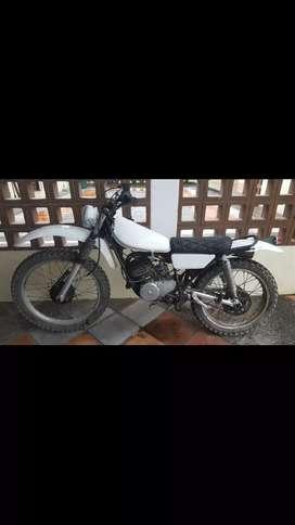 Yamaha TY 175cc - Moto clasica
