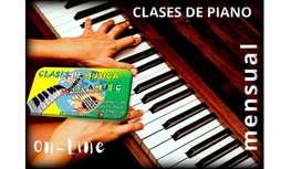 DOY CLASE DE PIANO GUITARRA O CANTO EN BOGOTA
