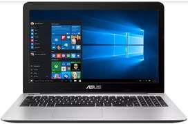 Computador Asus X555QG estado 10/10, único dueño.