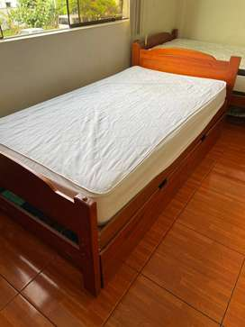 2 camas + Cajón cama