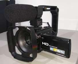 Videocamara Con Micrófono, Vafoton 1080p 30fps 24mp